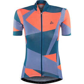 Craft Hale Graphic Maillot de cyclisme Femme, nox/shore